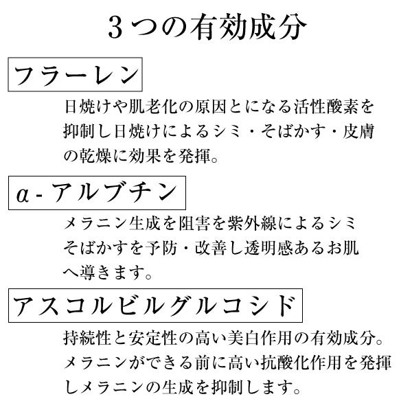 JFエッセンスP.W 3つの有効成分