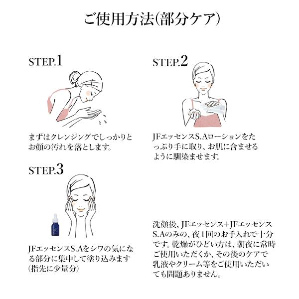 シンエイク原液ケア トライアルセット ご使用方法